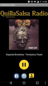 QuillaSalsa Radio Online apk screenshot