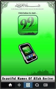 99 Names of Allah : Meaning and Tasbeh poster