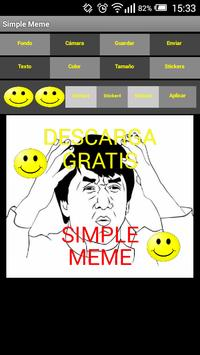 Simple Meme apk screenshot
