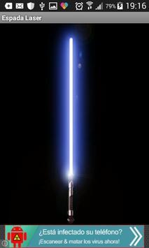 Espada Laser poster