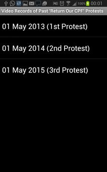 May Day Protest apk screenshot