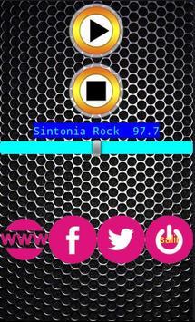 Sintonia rock 97.7 poster