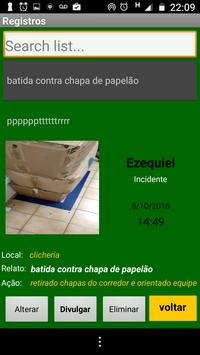 Incidentes apk screenshot