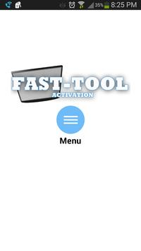 Fast Tools Activation poster