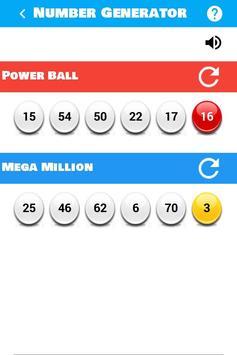 Lucky Lottery Generator apk screenshot