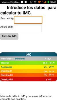 saetsa nutrición screenshot 1