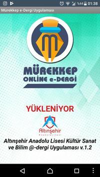 e-Mürekkep poster