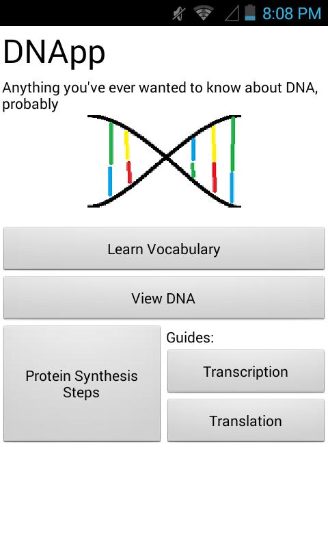 DNApp - DNA/Protein Synthesis for Android - APK Download