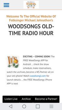 WoodSongs apk screenshot