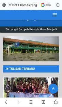 MTsN 1-Kota Serang apk screenshot