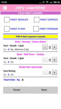 OLVY Laundry apk screenshot