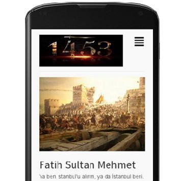 Fatih Sultan Mehmet poster