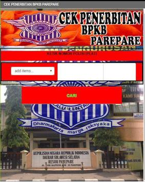 BPKB PAREPARE screenshot 1