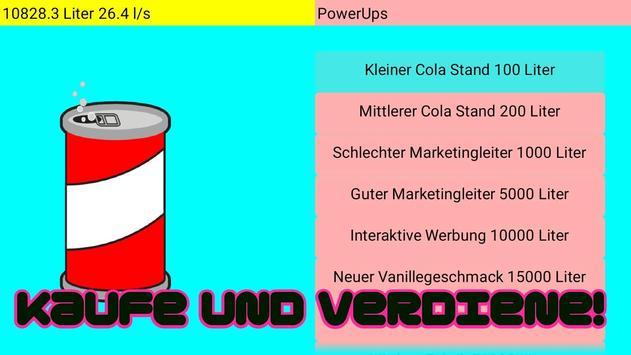 Cola Clicker screenshot 1