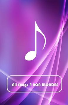 All Songs 4 NON BLONDES screenshot 1