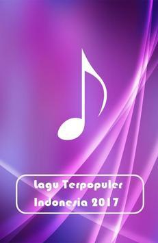 Lagu Terpopuler Indonesia 2017 poster