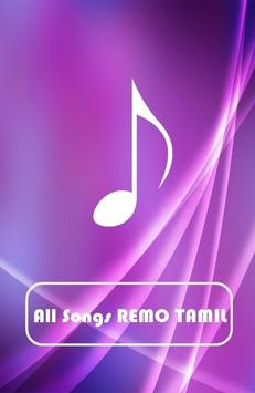 All Songs REMO TAMIL poster