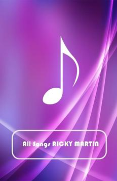All Songs RICKY MARTIN poster