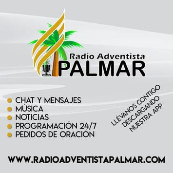 Radio Adventista Palmar poster