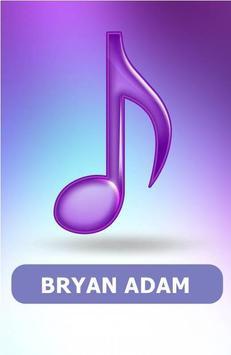 BRYAN ADAM SONGS poster