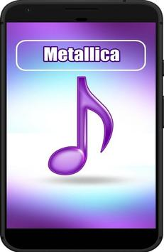 All Song The Best METALLICA poster