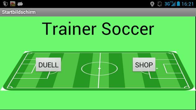 Trainer Soccer screenshot 1