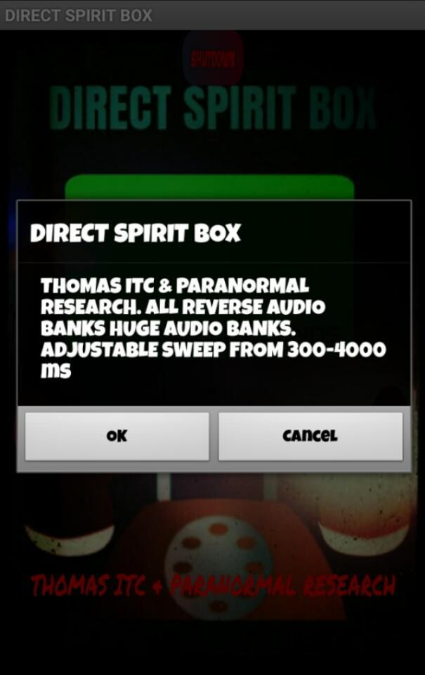 DIRECT SPIRIT BOX for Android - APK Download