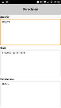 Binary/Hex/Decimal Converter poster