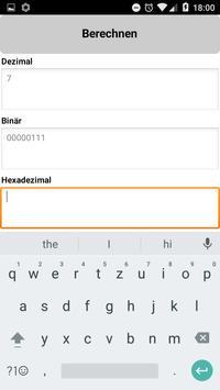 Binary/Hex/Decimal Converter screenshot 2