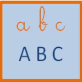 abc en cursive icon