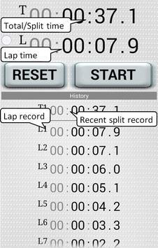 "Stopwatch - ""HakaRun"" screenshot 1"