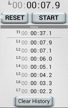 "Stopwatch - ""HakaRun"" screenshot 2"