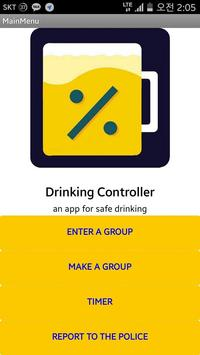 Drinking Controller poster