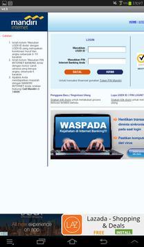 Kumpulan Internet Banking apk screenshot