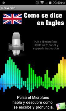 Pronuncia en Ingles Facil! poster