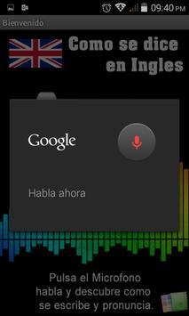 Pronuncia en Ingles Facil! apk screenshot