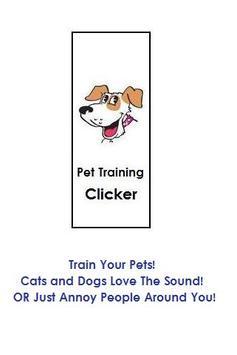 Pet Training Clicker poster