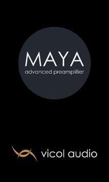 MAYA advanced preamplifier poster