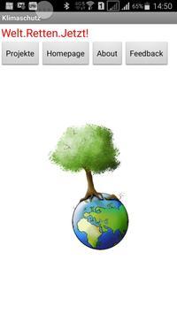 Klimaschutz AG App poster