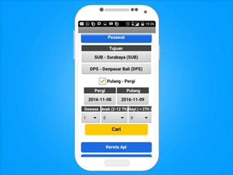 Tiketbox - flight , train , hotel booking apk screenshot