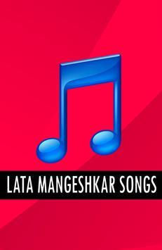 LATA MANGESHKAR Old Songs poster