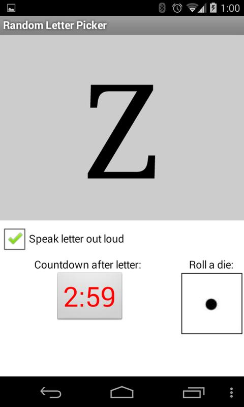 random letter picker apk download free card game for android