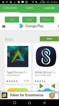 Quick Search 🔍: Icons Fonts Launchers apk screenshot