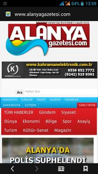 Alanya Newspaper poster