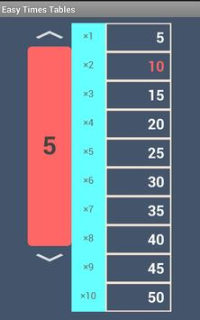 Quick Times Tables screenshot 4
