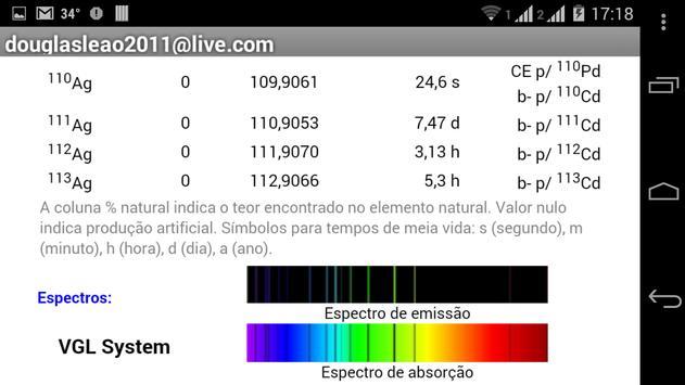 Tabela peridica descarga apk gratis educacin aplicacin para tabela peridica captura de pantalla de la apk urtaz Choice Image