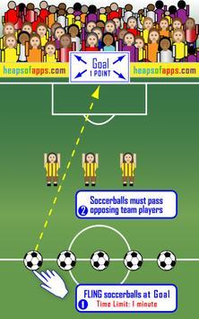 Girls Soccer Footy Flick apk screenshot