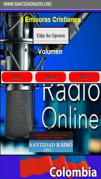 SANTIDAD RADIO ORG poster