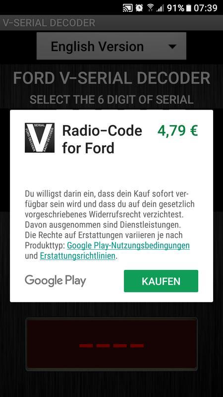 V Serial Radio Code Decoder Apk Download Free Auto Amp Vehicles App For Android Apkpure Com