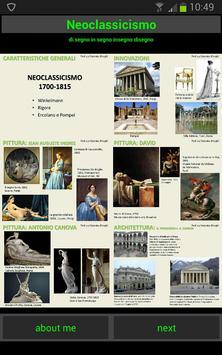 Storia dell'arte: Neoclassicismo poster